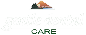 Gentle Dental Care White Lettering and No Background